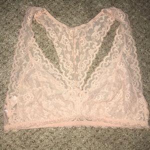 Victoria's Secret Lace racerback Bralette